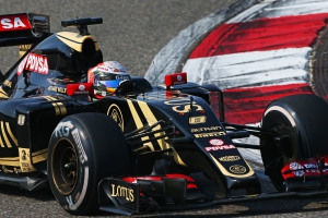 Romain Grosjean (Lotus) 7e